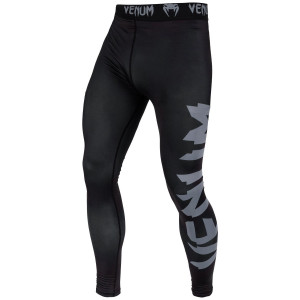 Леггинсы Venum Giant Spats Black/Grey