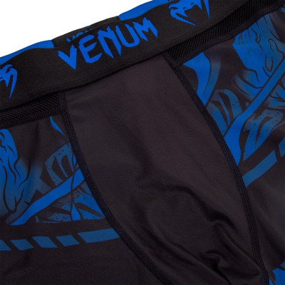 Леггинсы Venum Devil Spats Navy Blue (01560) фото 5