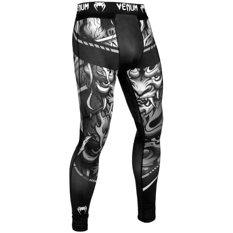 Леггинсы Venum Devil Spats White/Black (01545) фото 3