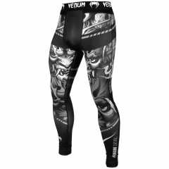 Леггинсы Venum Devil Spats White/Black