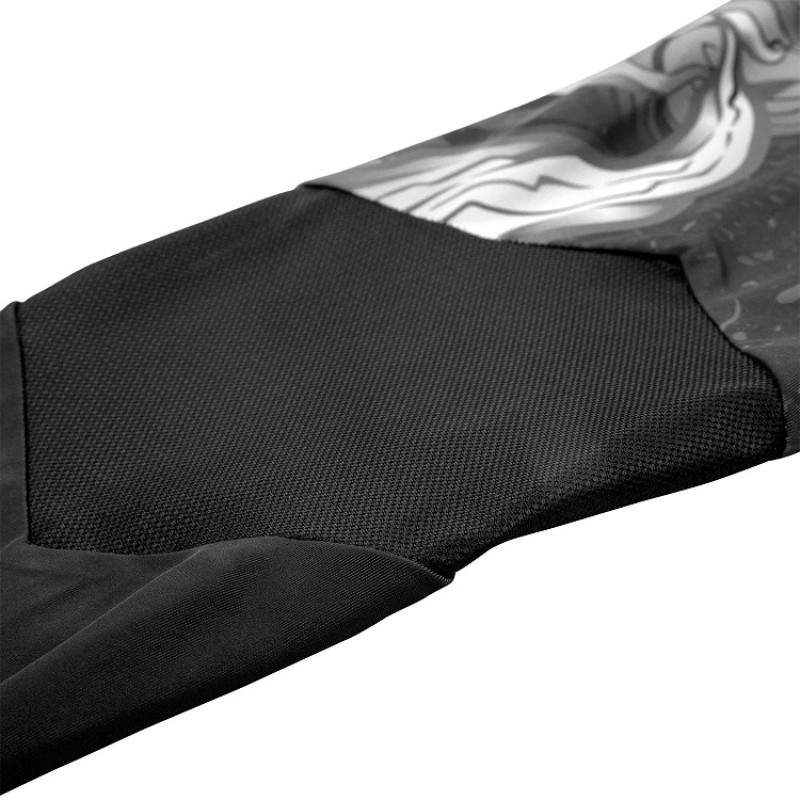 Леггинсы Venum Devil Spats White/Black (01545) фото 7