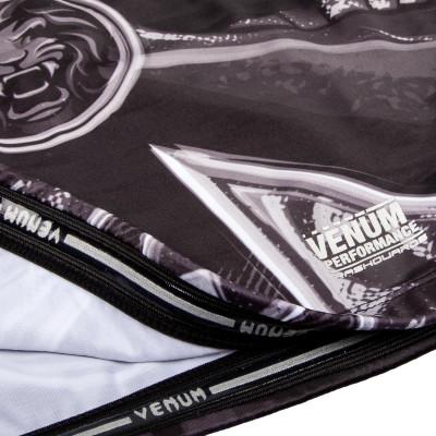 Рашгард Venum Gladiator 3.0 с Коротким рукавом Чёрный/Белый (01840) фото 6