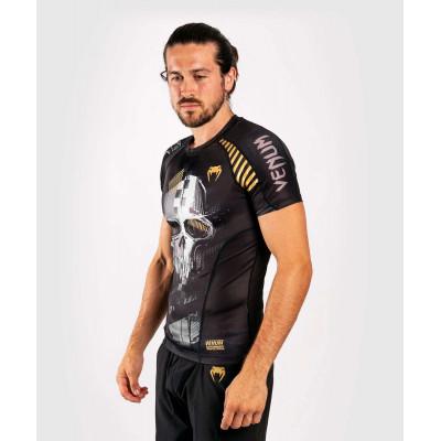 Рашгард с коротким рукавом Venum Skull Rashguard Short sleeves Black (01960) фото 3