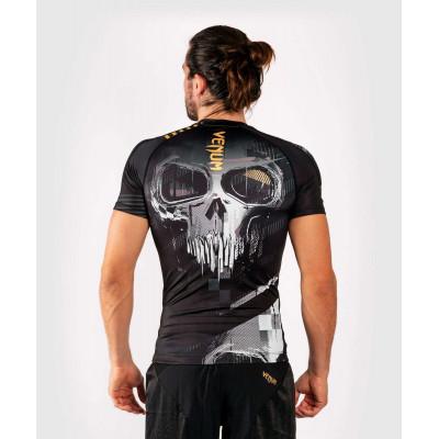 Рашгард с коротким рукавом Venum Skull Rashguard Short sleeves Black (01960) фото 2