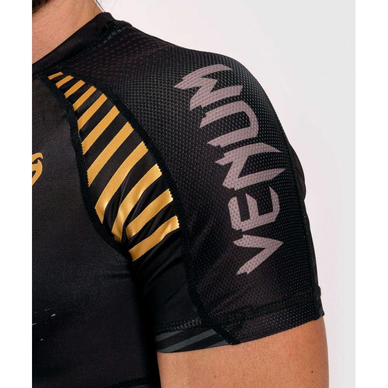 Рашгард с коротким рукавом Venum Skull Rashguard Short sleeves Black (01960) фото 6