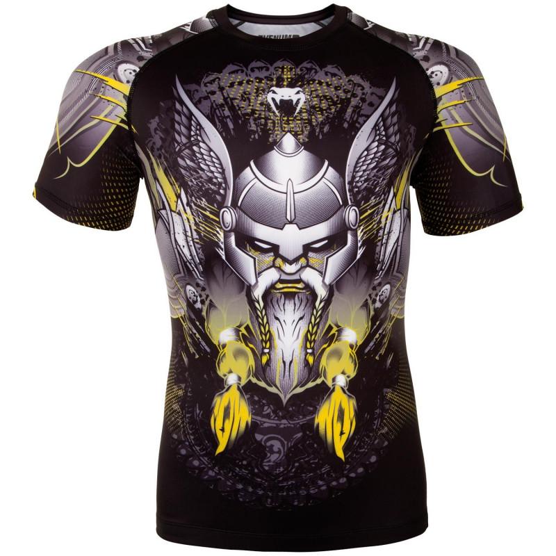 Рашгард Venum Viking 2.0 Чёрный/Желтый (01872) фото 1