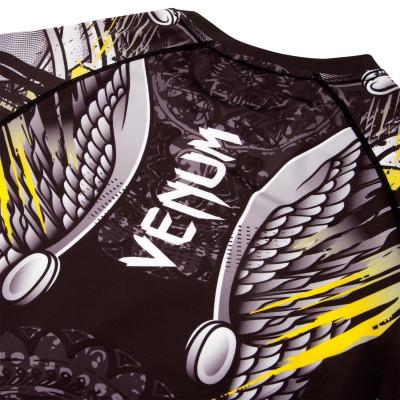Рашгард Venum Viking 2.0 Чёрный/Желтый (01872) фото 8