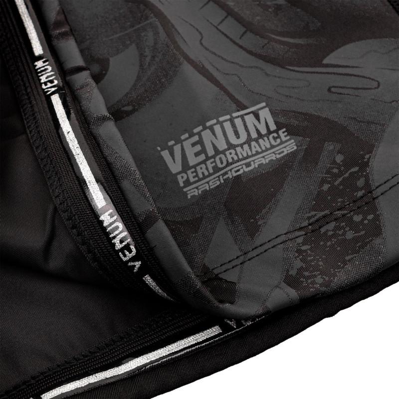Рашгард Venum Devil с Коротким Рукавом Чёрный (01842) фото 7