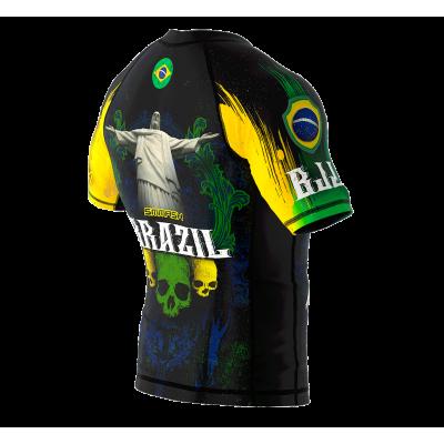 Рашгард з коротким рукавом SMMASH Brazilian 2.0 (01113) фото 6