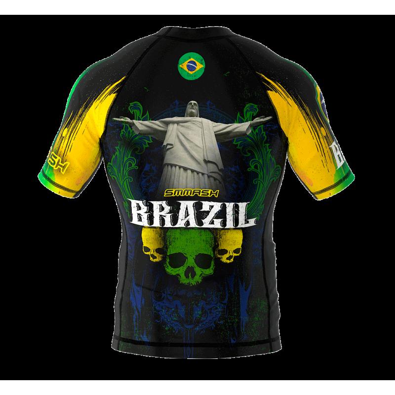 Рашгард з коротким рукавом SMMASH Brazilian 2.0 (01113) фото 2
