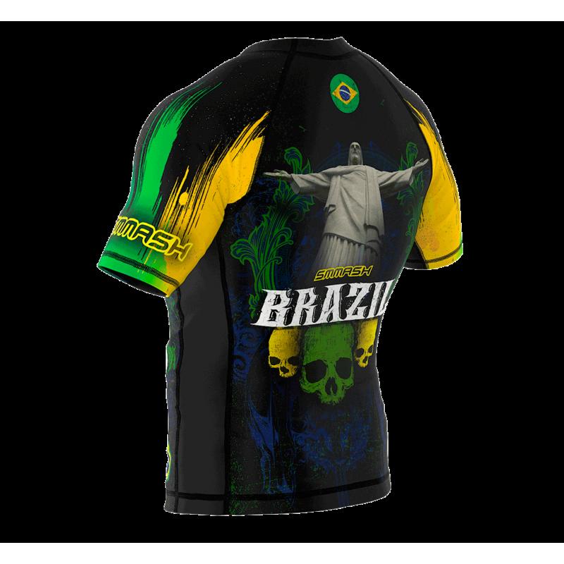 Рашгард з коротким рукавом SMMASH Brazilian 2.0 (01113) фото 7