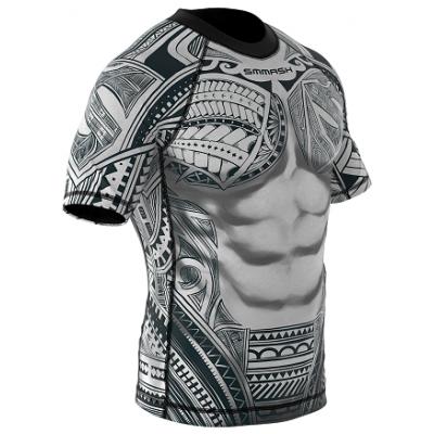 Рашгард с коротким рукавом SMMASH Maori (01112) фото 3
