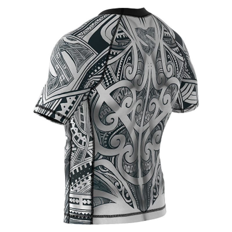 Рашгард с коротким рукавом SMMASH Maori (01112) фото 6