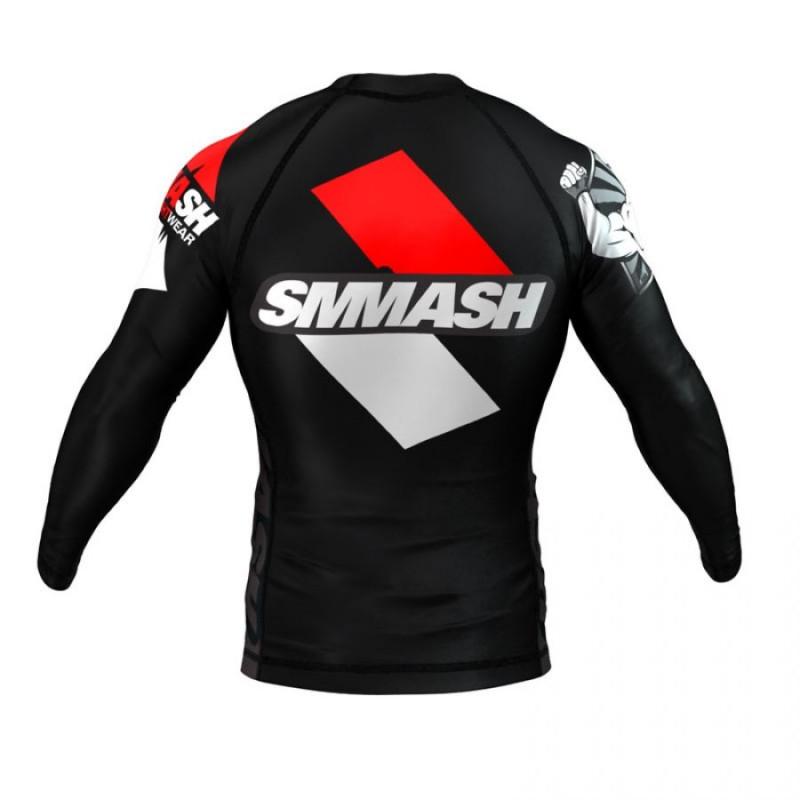 Рашгард довгий рукав SMMASH RAGE BLACK (00623) фото 2