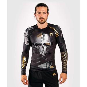 Рашгард с длинным рукавом Venum Skull Rashguard Long sleeves Black
