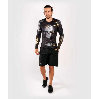 Рашгард с длинным рукавом Venum Skull Rashguard Long sleeves Black (01959) фото 10