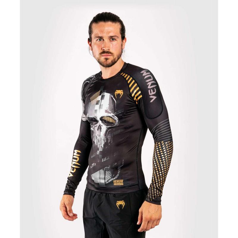 Рашгард с длинным рукавом Venum Skull Rashguard Long sleeves Black (01959) фото 4