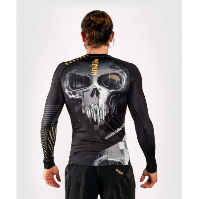 Рашгард с длинным рукавом Venum Skull Rashguard Long sleeves Black (01959) фото 3