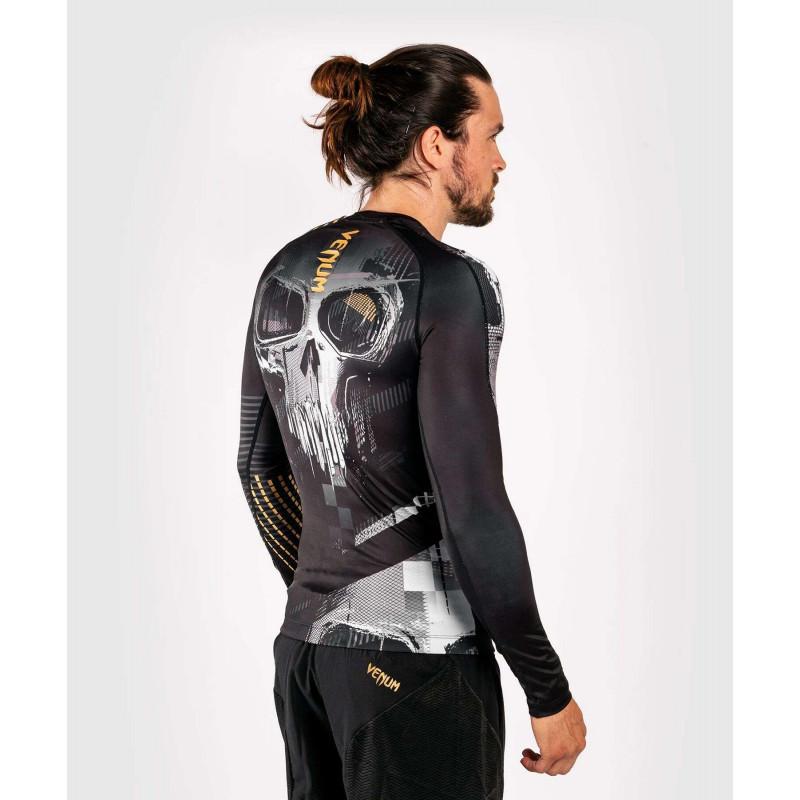 Рашгард с длинным рукавом Venum Skull Rashguard Long sleeves Black (01959) фото 5