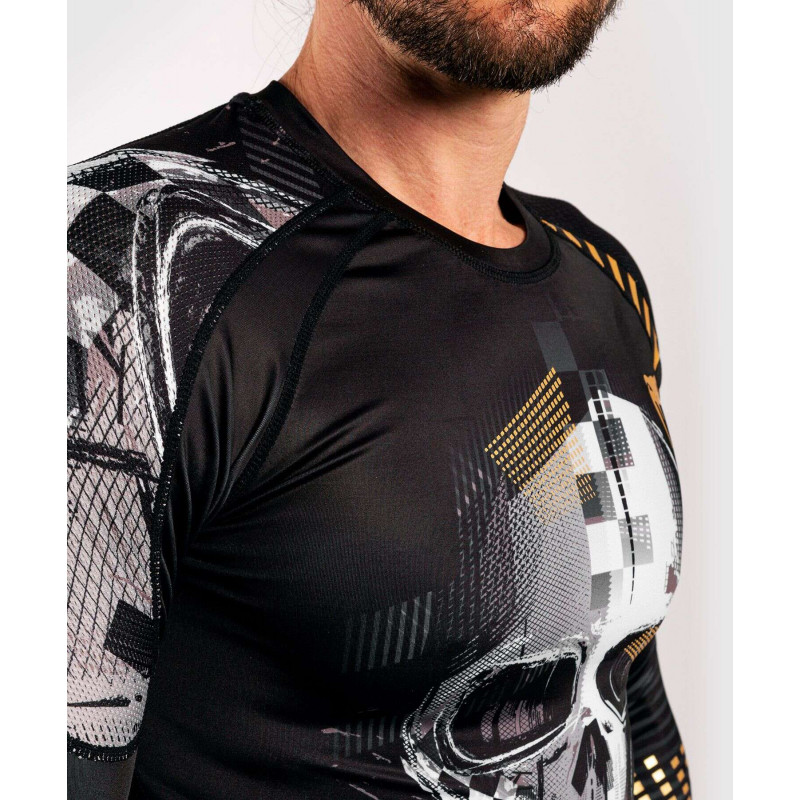 Рашгард с длинным рукавом Venum Skull Rashguard Long sleeves Black (01959) фото 8