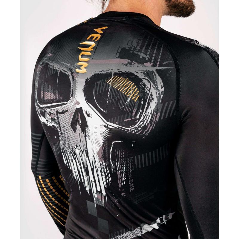 Рашгард с длинным рукавом Venum Skull Rashguard Long sleeves Black (01959) фото 9