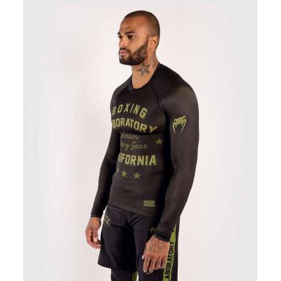 Рашгард Venum Boxing Lab Rashguard Long Black/G (02049) фото 3
