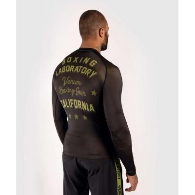 Рашгард Venum Boxing Lab Rashguard Long Black/G (02049) фото 4