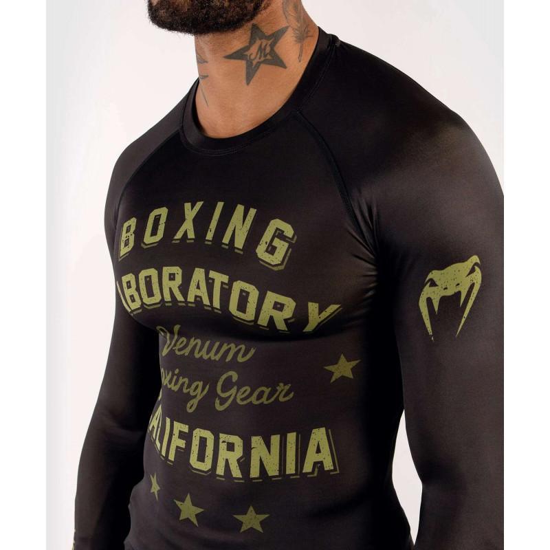 Рашгард Venum Boxing Lab Rashguard Long Black/G (02049) фото 5