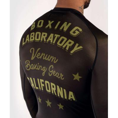 Рашгард Venum Boxing Lab Rashguard Long Black/G (02049) фото 6