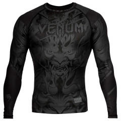 Рашгард Venum Devil Rashguard Long Black/Black