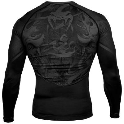 Рашгард Venum Devil Rashguard Long Black/Black (01994) фото 2