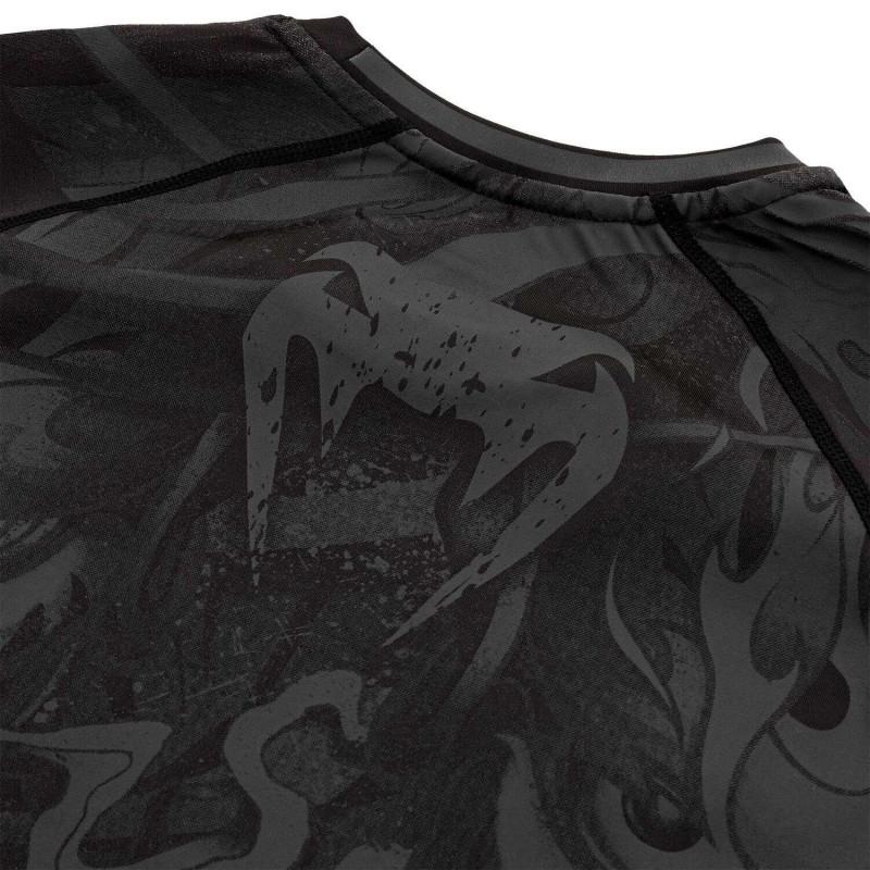 Рашгард Venum Devil Rashguard Long Black/Black (01994) фото 7