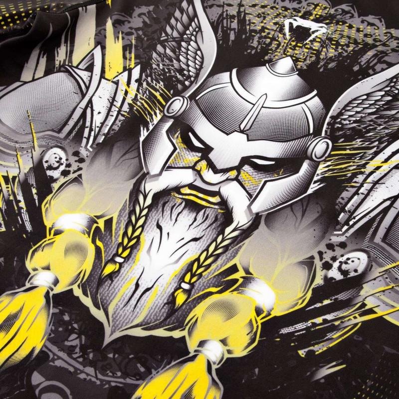 Рашгард Venum Viking 2.0 Rashguard Long Black/Yellow (01880) фото 5