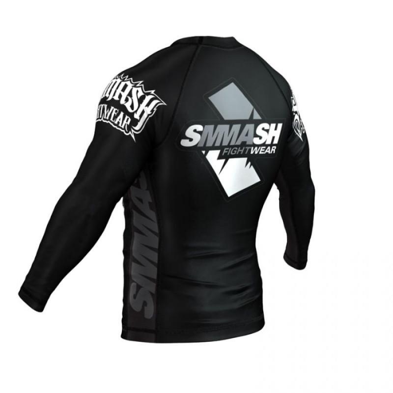 Рашгард длинный рукав SMMASH SKULL BLACK (00618) фото 6