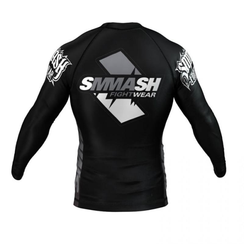 Рашгард длинный рукав SMMASH SKULL BLACK (00618) фото 2