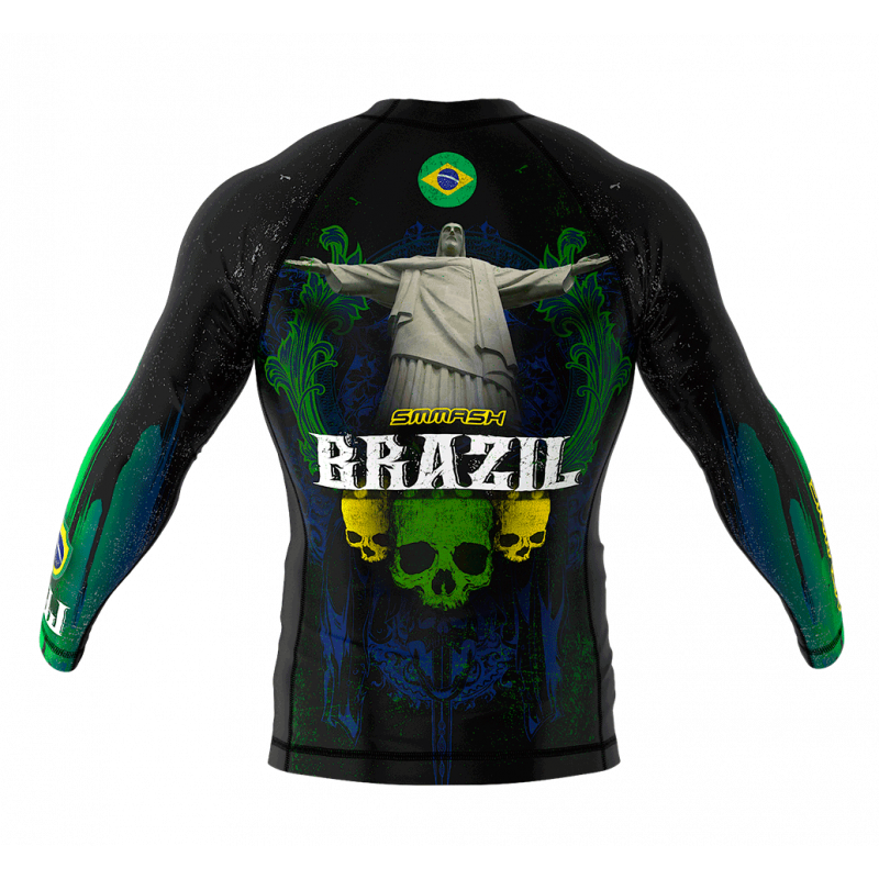 Рашгард с длинным рукавом SMMASH Brazilian 2.0 (01104) фото 2