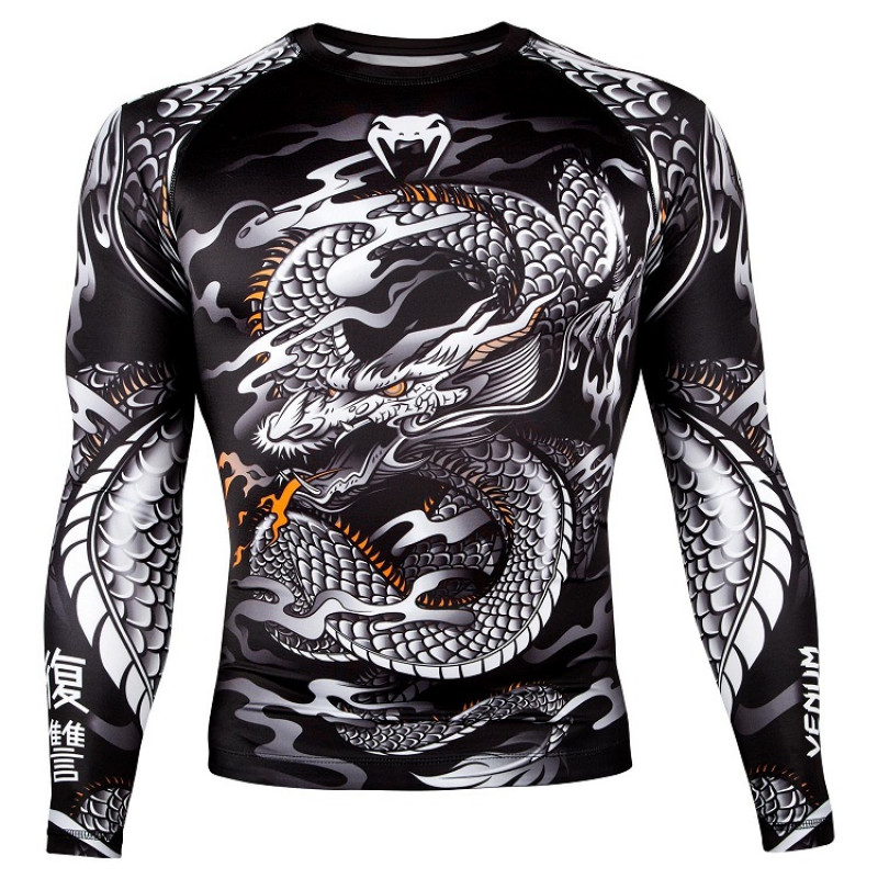 Рашгард Venum Dragons Flight Rashguard Long (01323) фото 1