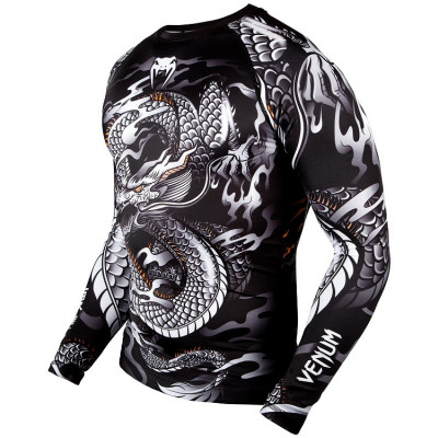 Рашгард Venum Dragons Flight Rashguard Long (01323) фото 4