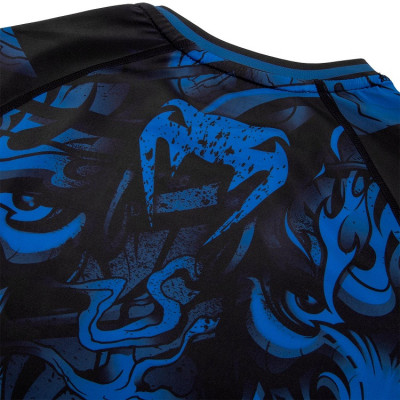 Рашгард Venum Devil Rashguard Long Sleeves N/Blue (01563) фото 6