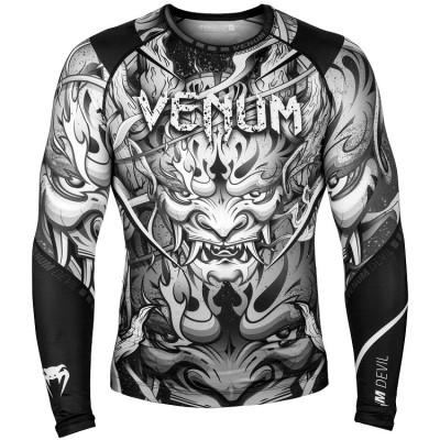 Рашгард Venum Devil Rashguard Long Sleeves Black (01566) фото 1