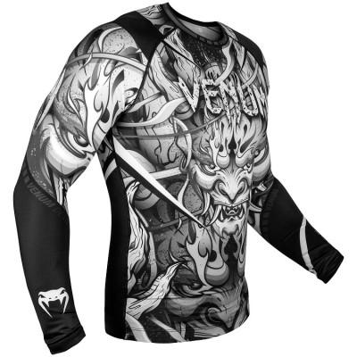 Рашгард Venum Devil Rashguard Long Sleeves Black (01566) фото 3