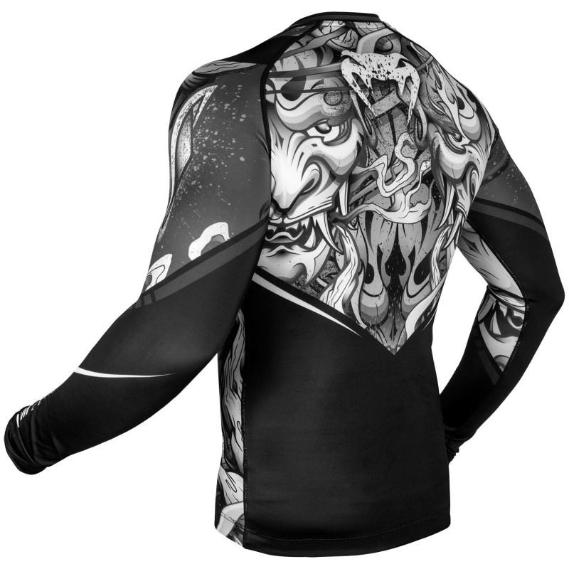 Рашгард Venum Devil Rashguard Long Sleeves Black (01566) фото 4