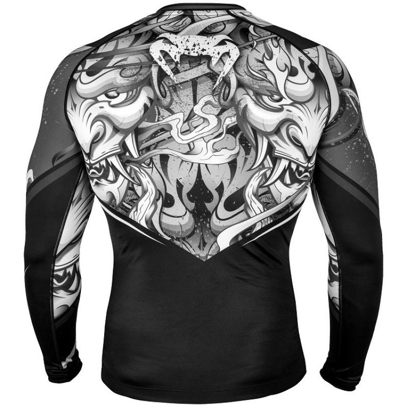 Рашгард Venum Devil Rashguard Long Sleeves Black (01566) фото 2