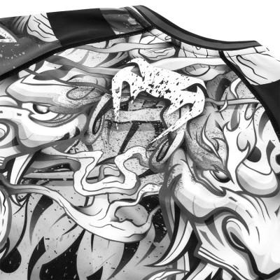 Рашгард Venum Devil Rashguard Long Sleeves Black (01566) фото 7