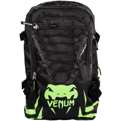 Рюкзак Venum Challenger Pro Backpack Black/Neo/ Yellow (01701) фото 1