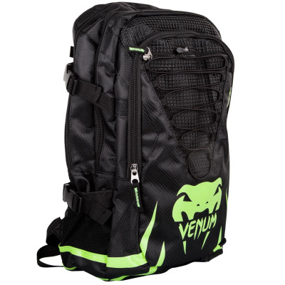 Рюкзак Venum Challenger Pro Backpack Black/Neo/ Yellow (01701) фото 3