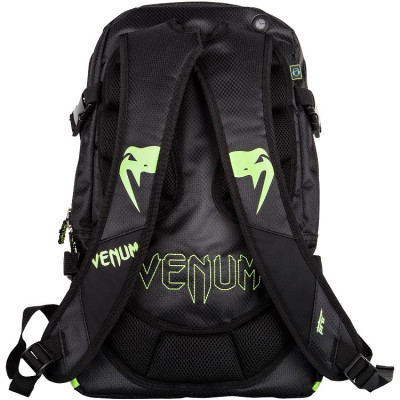 Рюкзак Venum Challenger Pro Backpack Black/Neo/ Yellow (01701) фото 2