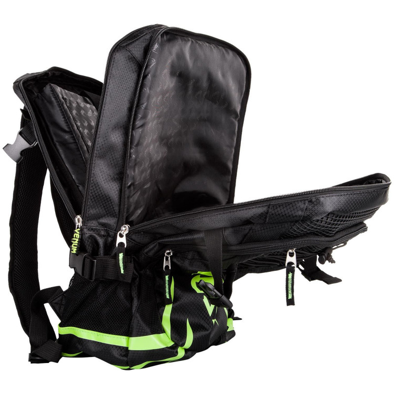 Рюкзак Venum Challenger Pro Backpack Black/Neo/ Yellow (01701) фото 4
