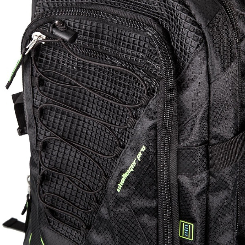 Рюкзак Venum Challenger Pro Backpack Black/Neo/ Yellow (01701) фото 6