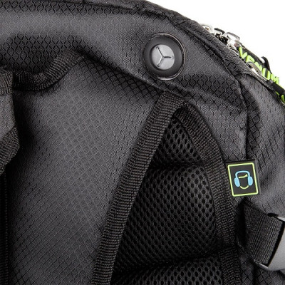 Рюкзак Venum Challenger Pro Backpack Black/Neo/ Yellow (01701) фото 7